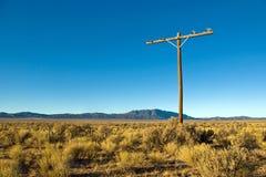 Telefon Pole stockfoto