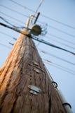 Telefon Pole Lizenzfreies Stockbild