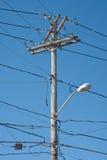 Telefon Pole Lizenzfreies Stockfoto