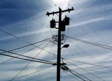 Telefon Pole Stockfotografie