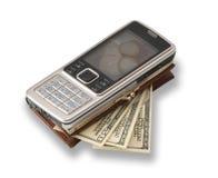 telefon, portfel Zdjęcia Royalty Free