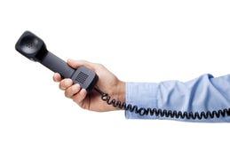 Telefon ręki kontaktu wezwanie zdjęcie royalty free
