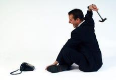 Telefon-Raserei Lizenzfreie Stockfotos