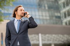 Telefon rozmowa fotografia stock