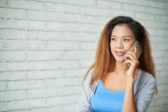 Telefon rozmowa zdjęcia royalty free