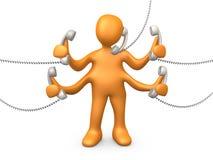 Telefon-Support Lizenzfreie Stockfotografie
