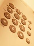 Telefon-Tastaturblock Stockfotografie