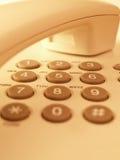 Telefon-Tastaturblock Stockfoto