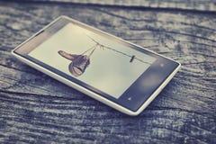 Telefon-Tasten der Zellen-Phone Lizenzfreie Stockfotografie