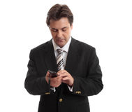 telefon, telefon biznesmena Obrazy Stock