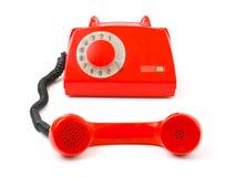 Telefon und Empfänger stockbilder