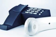 Telefon und Hörer lizenzfreie stockfotografie