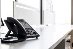 Telefon w nowożytnym biurze fotografia stock