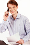 Telefonanruf Lizenzfreie Stockfotografie