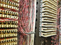 TelefonAnschlusskasten Lizenzfreies Stockfoto