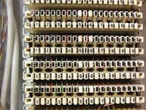 TelefonAnschlusskasten Stockbild