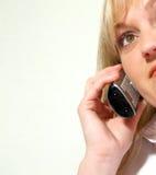 Telefonaufruf Lizenzfreies Stockfoto