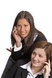 Telefonaufrufe Stockfotos