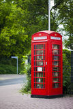 Telefonbås Royaltyfri Bild