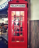 Telefonbås Arkivfoto