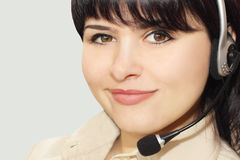 Telefonbediener Stockbild