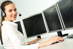 Telefonbediener Stockfotos