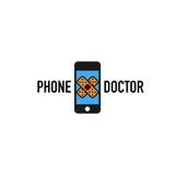 Telefondoktorslogo Arkivfoton
