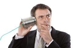 Telefondose Stockfoto