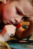 telefone παιχνιδιού παιδιών Στοκ εικόνα με δικαίωμα ελεύθερης χρήσης