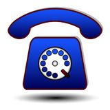 Telefone ilustração royalty free