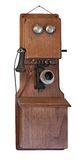 telefone 1900's no branco Imagem de Stock Royalty Free