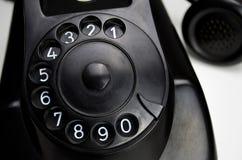 Telefone 1955 da baquelite foto de stock