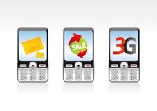 Telefone 2 de Mobil Fotografia de Stock Royalty Free