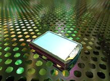 Telefone 3d Imagens de Stock Royalty Free
