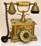 Telefone antigo foto de stock