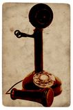 Telefone antigo imagem de stock