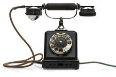Telefone antigo Imagens de Stock Royalty Free