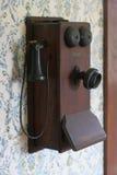 Telefone antigo Fotografia de Stock