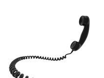 Telefone ao receptor Fotos de Stock Royalty Free