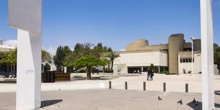 Telefone Aviv Museum da arte em Israel fotografia de stock royalty free
