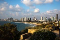 Telefone Aviv Skyline Fotos de Stock