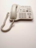 Telefone branco do escritório Imagens de Stock Royalty Free