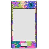 Telefone celular colorido Fotografia de Stock
