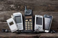 Telefone celular obsoleto Imagem de Stock Royalty Free