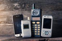 Telefone celular obsoleto Foto de Stock