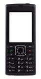 Telefone celular preto com botões Foto de Stock