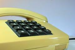 Telefone chave análogo imagem de stock