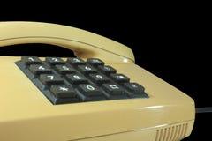 Telefone chave análogo fotografia de stock