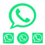 Telefone conservado em estoque do ícone do vetor isolado no branco ilustração stock