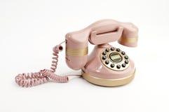 Telefone cor-de-rosa Imagem de Stock Royalty Free